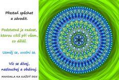 Mandala Uvolni se a nespěchej Self