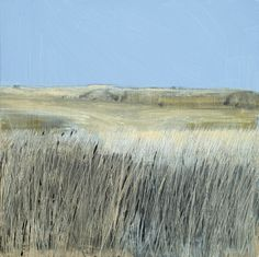 Dunes Oil, graphite Painting | Stephen Robson | Buy Today! - Oil, graphite