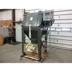 Dimensions: 65 In. x 65 In. x 98 In. (W x L x H). Lbs: 1564. Includes Dust Collection and Airlock. Model:41-500SP-BBS. Carbon Steel Construction.  Please Contact usfor more details...