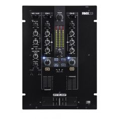Reloop RMX-22i - 2+1 Channel Digital Effect DJ Mixer