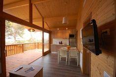 Camping Cala Llevado, eco-friendly bungalow - Spain