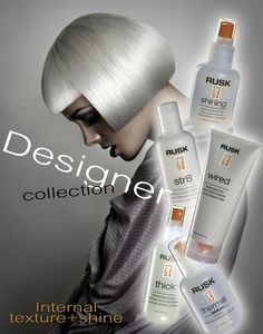 Internal Texture and Shine formulas with Termplex™ are effective on all hair types. These products modify texture from within, and can be used to smooth, soften, straighten, bodify and thicken hair, while remaining invisible, completely weightless and soft-to-touch.