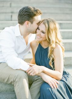 Golden hour engagement   Photography: KT Merry Photography - ktmerry.com