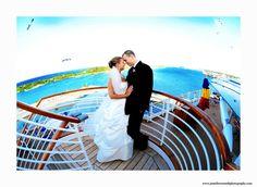 Orlando Wedding Photographers: Disney Cruise wedding