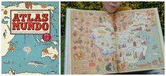 TOP 25 Libros informativos para niños, atlas del mundo Maeva Youngs