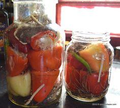 Saramura pentru ardei cu varza la borcan (3)