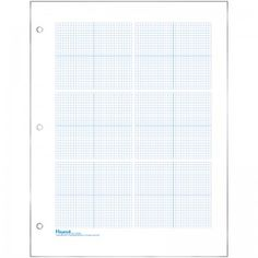 Graph Paper For Quilting With  Lines Per Inch And Heavy Index