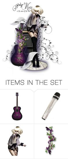"""""""Music is the voice of the soul"""" by poshtrish ❤ liked on Polyvore featuring art, music, dollset, artset and artexpression"""