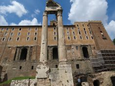 Temple of Vespasian - Rome