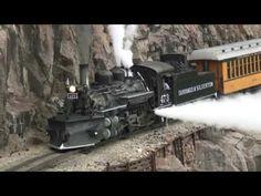 "Durango & Silverton Narrow Gauge Railroad ""Winter photo special train tour"" in Colorado's San Juan National Forest."