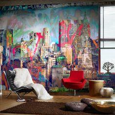colorful loft studio #loft #studio #interior