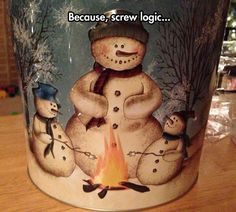 Snowmen Destructive Logic