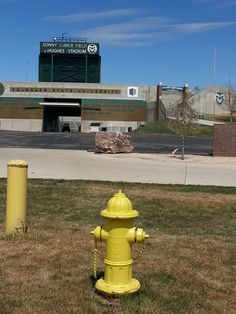 Mueller hydrant outside of Colorado State University Football Stadium