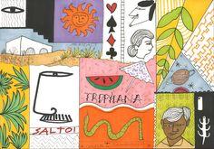 """Consultate il mio progetto @Behance: """"La Lotería""""…"""
