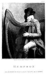 On this day – 14 July 1792 – The Belfast Harp Festival and the 96 year old Denis Hampson Posted on July 7th  2013 by Myles Dungan