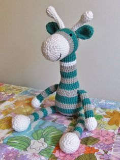 I Love Buttons By Emma: Some bit's of crochet and another Giraffe  #free #crochet #pattern