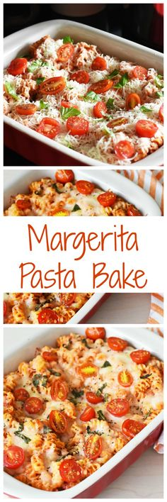 Love Margarita Pizza? Try this Margarita Pasta bake tonight and there will be no leftovers!! #ad @Rag