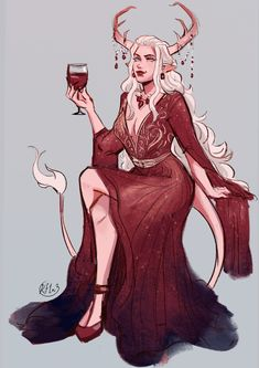 Dungeons And Dragons Characters, Cute Characters, Fantasy Characters, Female Characters, Female Character Design, Character Drawing, Character Design Inspiration, Character Concept, Tiefling Female