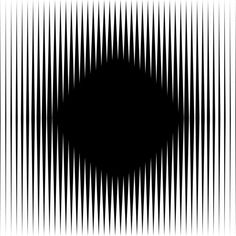 Look at the black diamond in the middle, is it moving? | 10 Awesome Optical Illusions That Will Melt YourBrain: