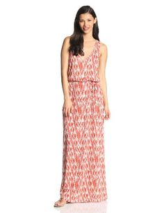 Joie Women's Emilia Ikat Jersey Maxi Dress, Mecca Orange/Porcelain, Large Joie http://www.amazon.com/dp/B00ITQD95K/ref=cm_sw_r_pi_dp_-bZOtb1J7A2QPV0C