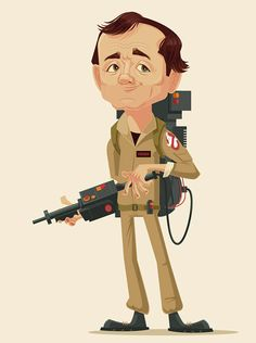 Vintage styled character illustrations by James Gilleard