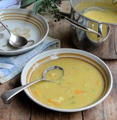Curried Autumn Allotment Soup