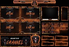 Fiverr freelancer will provide Graphics for Streamers services and design twitch overlay for your stream platform including Logo Design within 2 days Mobile Learning, Learning Centers, Logo Dragon, Team Logo Design, Media Kit, Organic Sugar, Game Logo, Types Of Food, Culinary Arts