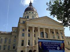 Abilene Kansas App News Center: Eisenhower Museum at Kansas State Capitol Day!!!