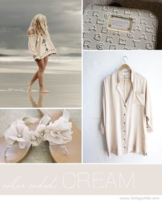 Color Coded: Cream | Flights of Fancy