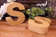 """Γράμμα """"S"""" Papier Mache  Γράμμα """"S"""" papier mache.Xρησιμοποιήστε τα ως έχουν, ή διακοσμήστε τα με όποια τεχνική θέλετε. Κολλήστε Washi Tapes, διακοσμήστε με σφραγίδες ή ζωγραφίστε τα, συνδυάστε μικρά ξύλινα ή μεταλλικά διακοσμητικά στοιχεία, κορδέλες, κορδόνια και ότι άλλο μπορείτε να φανταστείτε. Ιδανικά και ως βάση για Ντεκουπάζ. Washi, Symbols, Icons, Glyphs"""