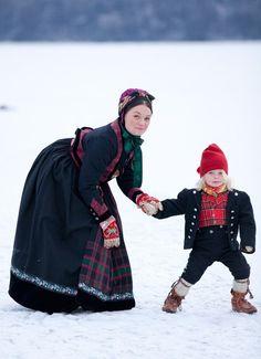 Норвежский национальный костюм