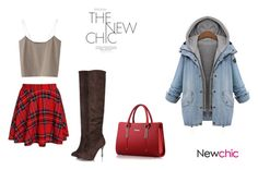"""Casual Chic #newchic"" by alma-cizmic ❤ liked on Polyvore featuring chic, New and newchic"