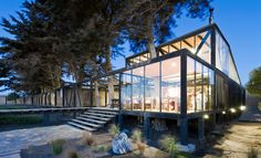 Hotel Surazo, Matanza, Chile, by Felipe Wedeles & Jorge Manieu.