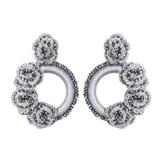 Crazy for this silver rosales earrings💥 . Granada, Top Tags, Heart Ring, Diamond Earrings, Jewelry Design, Wedding Rings, Engagement Rings, Jewels, Crochet