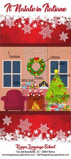 Learn Italian words: il Natale in italiano