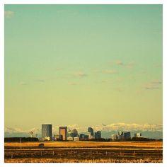 """Calgary downtown from far....really far. #YYC #Sunrise #IAmDowntown #CaptureCalgary #ExploreAlberta #ExploreCalgary #Calgary #vsco #vscocam""  Instagram photo by ryechess (Ross Tabalada)"