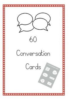 This is a pack of 60 cut-out question cards to encourage your students to talk. A perfect icebreaker activity for the new school year or for use in an EFL classroom.You can cut out these questions and ask them to your students, or use them for pair or group work.