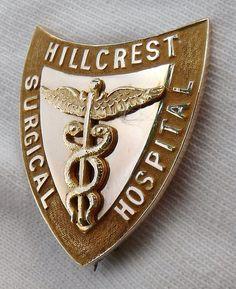 Hillcrest Surgical Hospital School of Nursing Graduation Pin 1933 - Pittsfield, MA. by @nursingpins, via Flickr