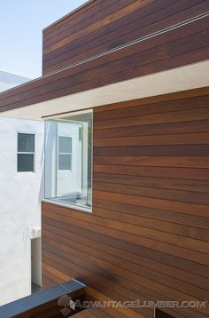 Advantage Ipe Shiplap Siding will make your home stand out from the rest. AdvantageLumber.com ®  #California #Chic #wood