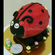 Ladybug easter egg