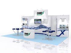 Modular Exhibition Stand Design (848)