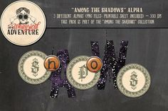 Among The Shadows Alpha by On A Whimsical Adventure on @creativemarket