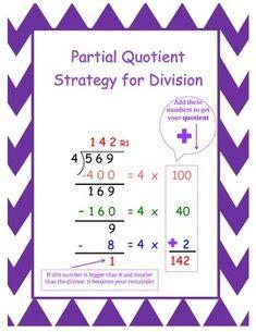 division strategies on pinterest long division multiplication and division. Black Bedroom Furniture Sets. Home Design Ideas