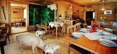 """Erlebnis Waldegg - traditionally arranged pub and farmhouse with bakery and school room just """"the way it used to be"""" in Appenzell. Restaurant, Just The Way, Travelling, Bakery, Farmhouse, School, Room, Tourism, Road Trip Destinations"""