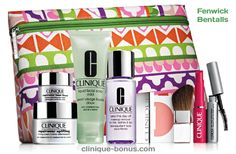 Bonus gift time now at Bentalls and Fenwick (United Kingdom). Do you also want this gift in the U.S. or Canada? http://clinique-bonus.com/united-kingdom/