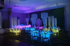 Illuminated Tables: Party Interiors & My Glow Party