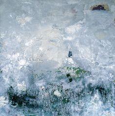 Herbert Brandl, Ohne Titel / Untitled 1988, Öl, Chromspray,