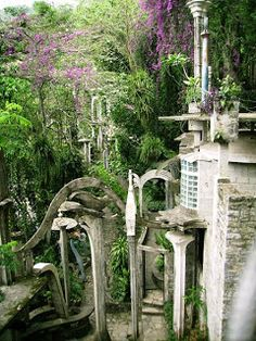 "Sir Edward James (1907 - 1984), his Surrelist gardens, ""The Bamboo Palace"", and "" El Castillo"" in Xilitla, Mexico"
