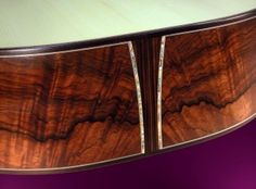 Brazilian Rosewood Guitar - Custom Hand Built Acoustic Guitars by Gerald Sheppard
