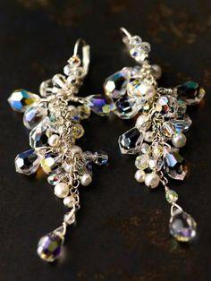 crystal earrings~~